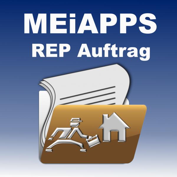 """APP Anbindung """"REP Auftrag""""-"""