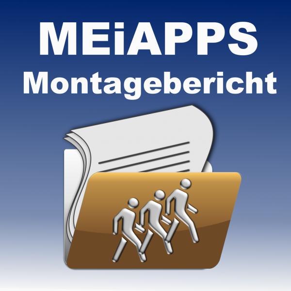 """APP Anbindung """"Montagebericht"""""""